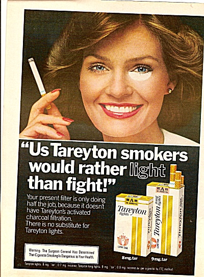 Tareyton cigarettes ad 1979 (Image1)