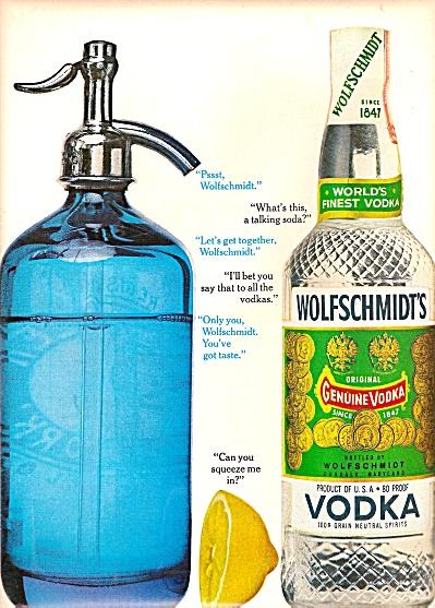 Wolfschmidt's vodka ad 1962 (Image1)