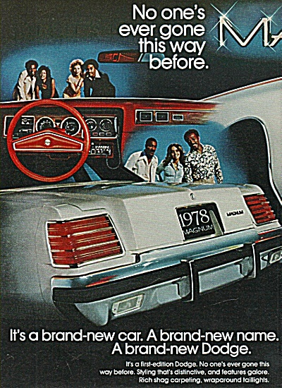 Dodge automobile ad  1977 (Image1)