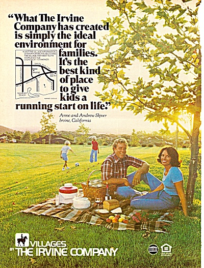 Villages by The Irvine Comany ad 1979 (Image1)