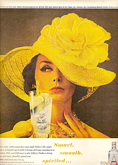 Gilbey's vodka ad 1962 (Image1)