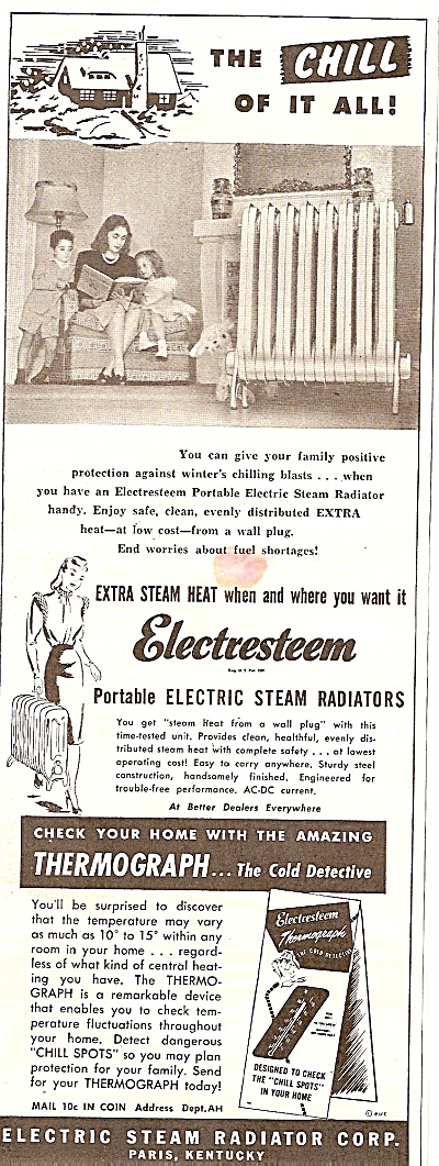 Electric steam radiator corp. ad 1947 (Image1)
