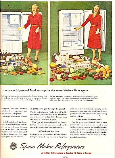 General electric refrigerators ad 1947 (Image1)