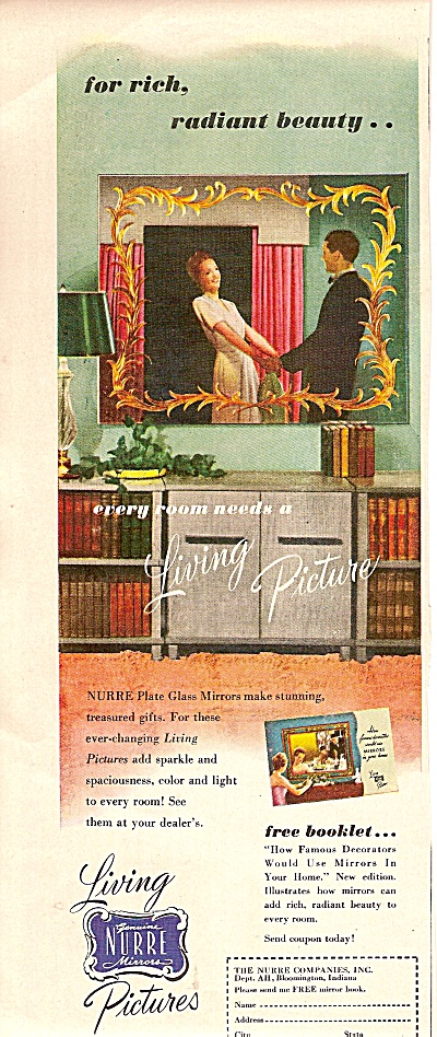 Living Nurre mirrors pictures ad 1947 (Image1)