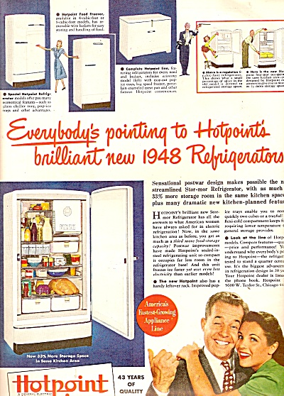 Hotpoint appliances ad 1947 (Image1)