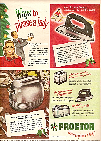 Proctor appliances ad 1947 (Image1)