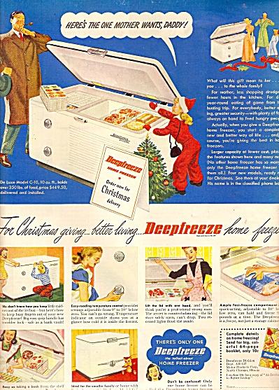 DeepFreeze home freezer ad 1947 (Image1)