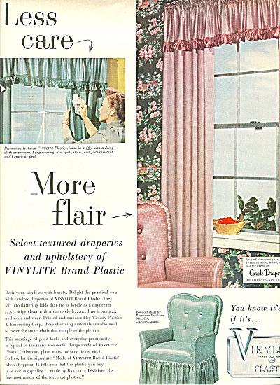 Vinylite plastics ad 1951 (Image1)