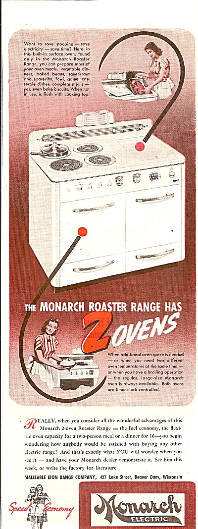 Monarch electric ad 1947 (Image1)