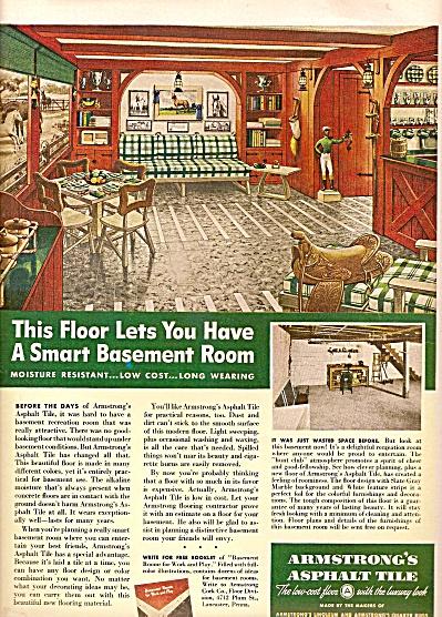 Armstrong's Asphalt tile ad 1947 (Image1)