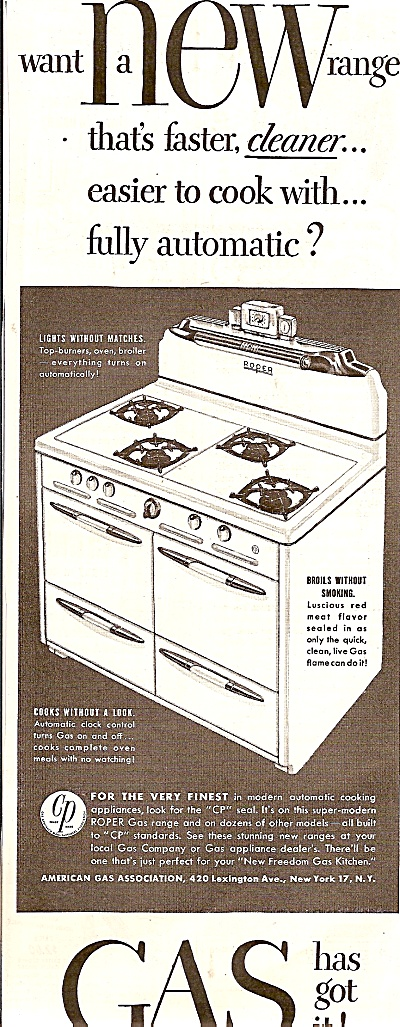 Gas oven ad  1947 (Image1)