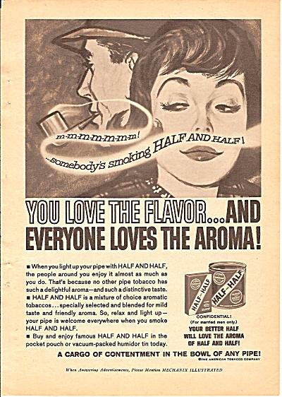 Half & Half tobacco ad - 1962 (Image1)