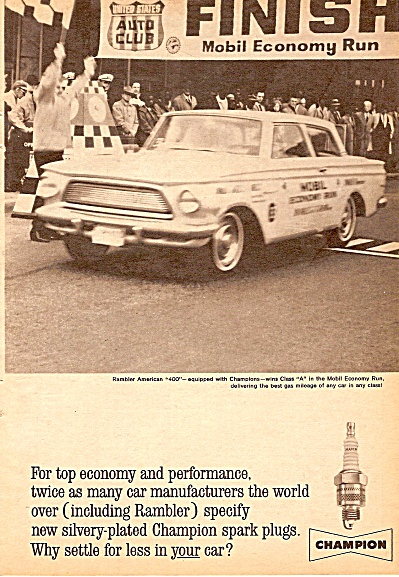 Champion spark plugs ad 1962 (Image1)