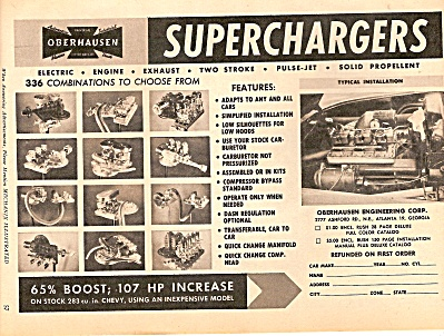 Obenhausen superchargers ad 1958 (Image1)