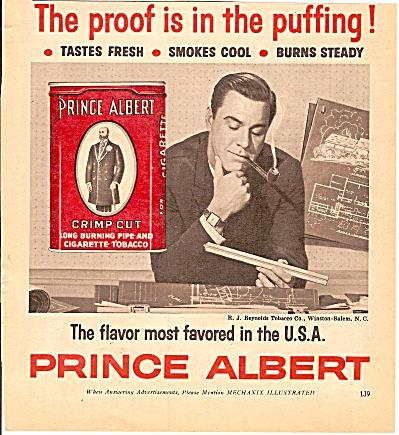 Prince Albert tobacco ad 1972 (Image1)