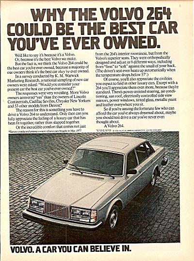 Volvo auto ad 1978 (Image1)