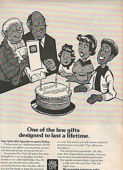 New York Life insurance co. ad 1977 (Image1)