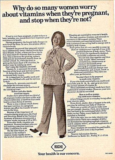 Roche - Vitamins information service ad 1978 (Image1)