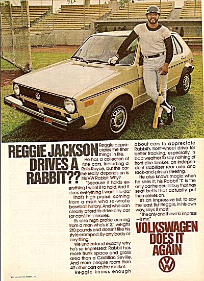 Volkswagen =- REGGIE JACKSON  ad 1978 (Image1)
