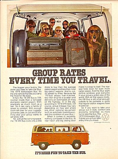 Volkswagen bus ad 1978 (Image1)