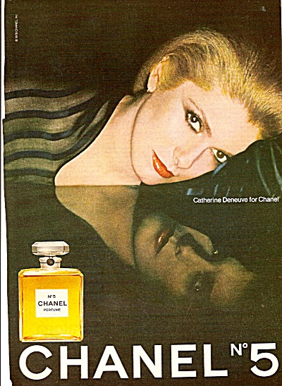 Chanel No. 5 - CATHERINE DENEUVE  ad 1978 (Image1)
