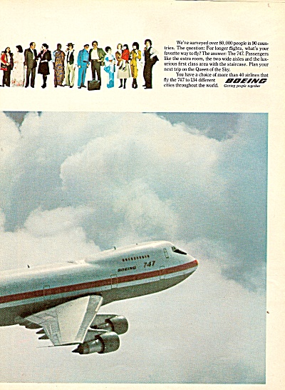 Boeing 747 Ad 1978