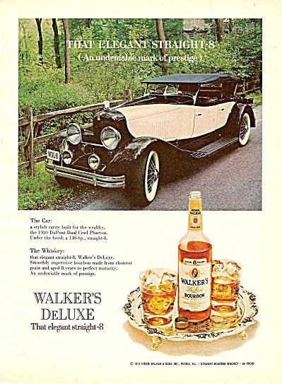 Walker's Deluxe bourbon ad 1974 (Image1)