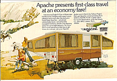 Apache Eagle 8 Trailer Ad 1974