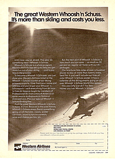 Western Airlines ad 1974 (Image1)