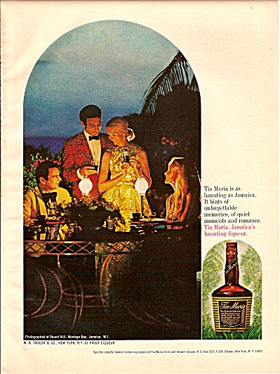 Tia Maria liqueur  ad 1974 (Image1)