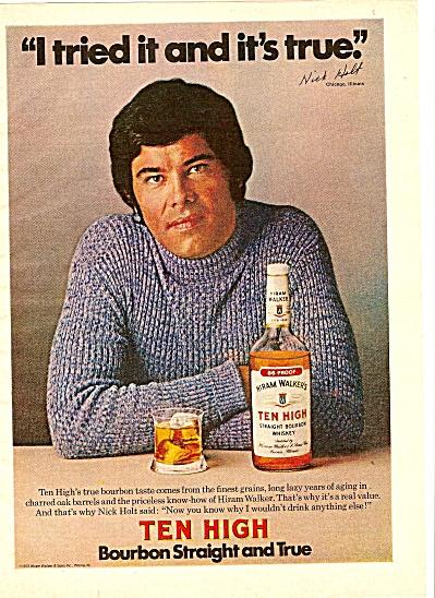 Ten high bourbon ad 1974 (Image1)