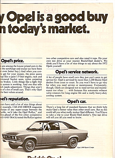 Buick's Opel auo ad 1972 (Image1)