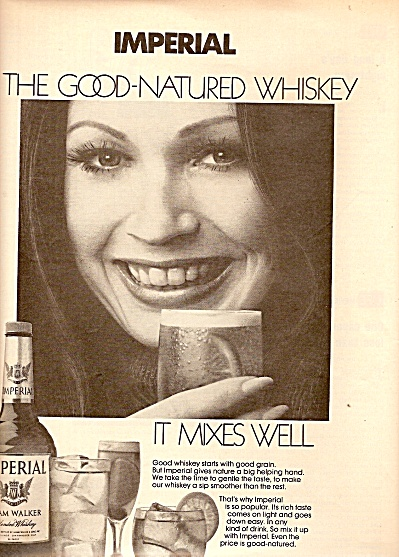 Imperial;  Hiram walker whiskey ad 1972 (Image1)