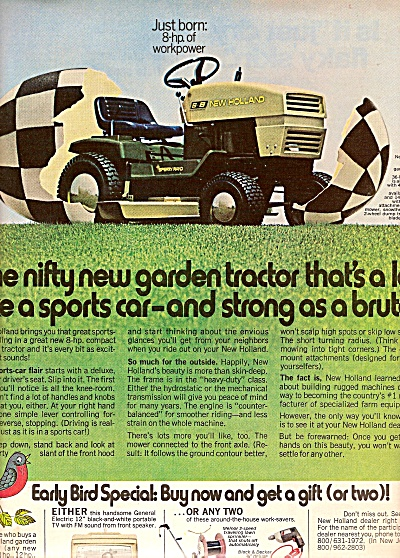 New Holland Tractor from Sperry Rand ad 1972 (Image1)