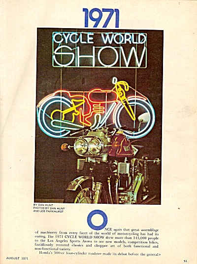 Cycle world show 1971 (Image1)