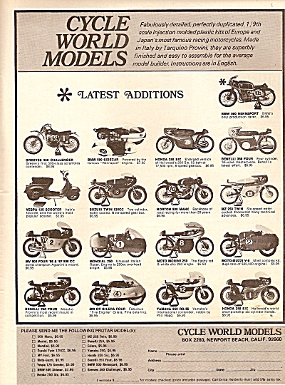 Cycle world models ad 1971 (Image1)
