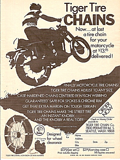 Tiger tire chains ad 1971 (Image1)