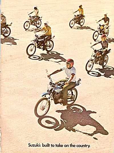 Suzuki motorcycles ad 1971 (Image1)