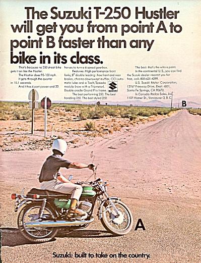 Suzuki T-250 hustler ad 1971 (Image1)