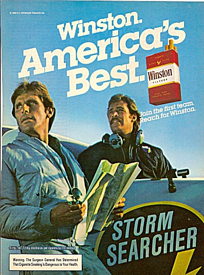 Winston cigarettes ad 1983 (Image1)