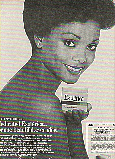 Esoterica Medicated Cream Ad 1977