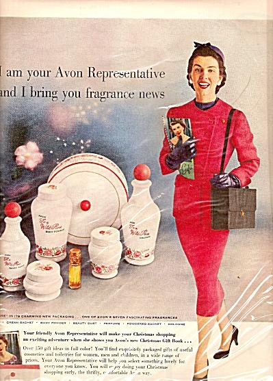 Avon Cosmetics ad 1955 (Image1)