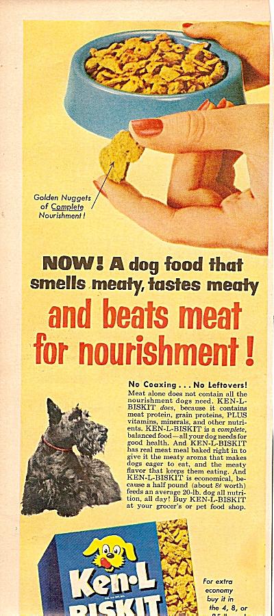 Ken-L Biskit ad 1955 (Image1)