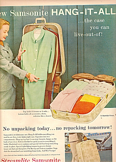 Streamlite Samsonite ad 1955 (Image1)