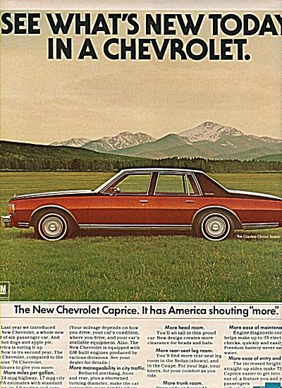 Chevrolet Caprice ad 1977 (Image1)