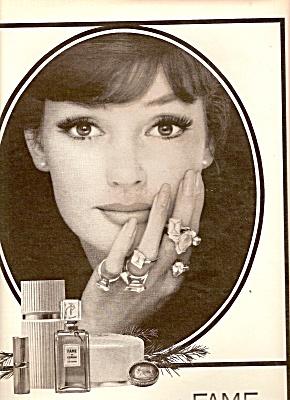 Fame de Corday perfume ad 1964 (Image1)