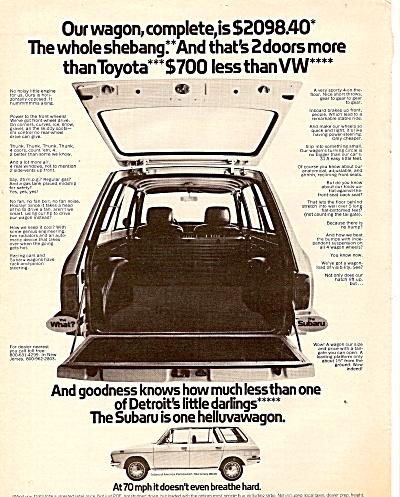 Subaru wagon ad 1971 (Image1)