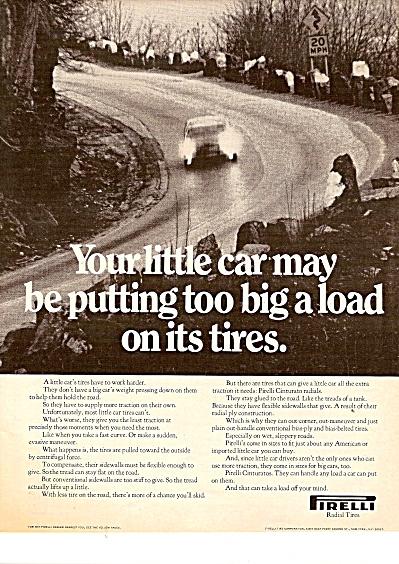 Pirelli radial tires ad 1971 (Image1)