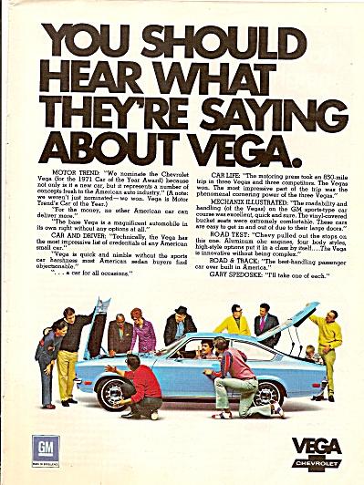 Chevrolet Vega auto ad 1971 (Image1)