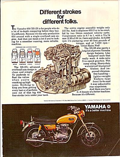 Yamaha motorcycle ad 1971 (Image1)